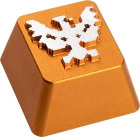 Zomoplus Aluminium Keycap Battle City Basisstation, gold/weiß (0759663285032)