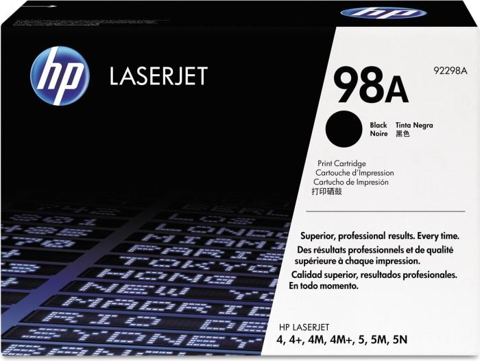 HP Toner 98A schwarz (92298A)