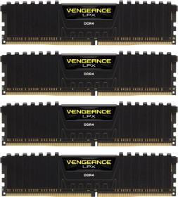 Corsair Vengeance LPX schwarz DIMM Kit 64GB, DDR4-2666, CL16-18-18-35 (CMK64GX4M4A2666C16)