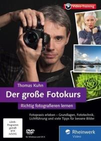 Rheinwerk Verlag Der große Fotokurs - Richtig fotografieren lernen (deutsch) (PC/MAC/Linux)