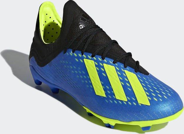 00987c8c468 adidas X 18.1 FG football blue solar yellow core black (Junior) (DB2428)  starting from £ 36.20 (2019)