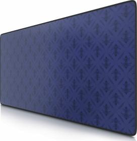 CSL-Computer Poker Pattern XXL Speed Gaming-mousepad, black/blue