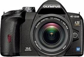 Olympus E-510 schwarz mit Objektiv 18-180mm 3.5-6.3 (E0413730)