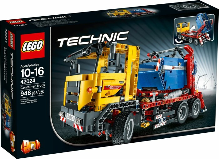lego technic container truck ab 139 99 2018. Black Bedroom Furniture Sets. Home Design Ideas