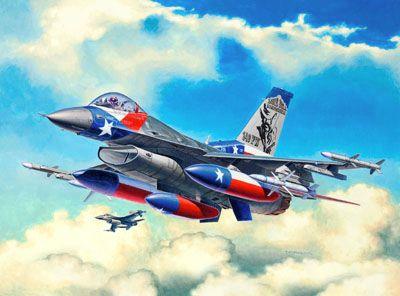 Hausha Unbekannt REVELL Model Set F-16C USAF Frühkindliche Rollenspiele