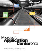 Microsoft: Application Center 2000 (angielski) (PC) (D93-00017) -- File written by Adobe Photoshop¨ 5.2
