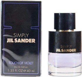 Jil Sander Simply Touch Of Violet Eau de Parfum, 40ml