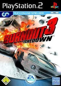 Burnout 3 - Takedown (niemiecki) (PS2)