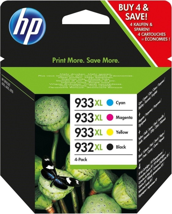 HP Tinte 932 XL/933 XL Rainbow Kit (C2P42AE)