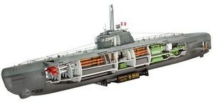 Revell German U-boat type XXI with interior (05078)