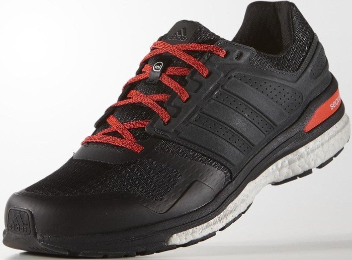 adidas Supernova Sequence Boost 8 core blacksolar red