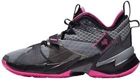 Nike Jordan Why Not Zer0.3 particle grey/black/iron grey/pink blast (Herren) (CD3003-003)