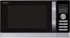 Sharp R843INW Mikrowelle mit Grill/Heißluft