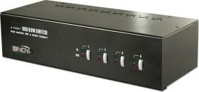 Lindy 4-way Dual Head KVM switch Pro (39303)