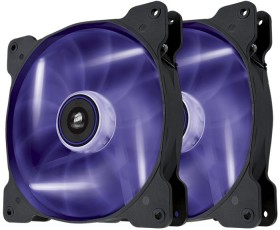 Corsair Air Series SP140 LED Purple High Static Pressure, 140mm, 2er-Pack (CO-9050038-WW)