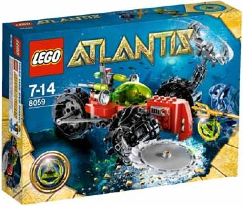 LEGO - Atlantis - Seabed Scavenger (8059) -- via Amazon Partnerprogramm