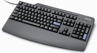 Lenovo Preferred Pro Keyboard schwarz, USB, DE (73P5232)