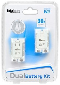 BigBen rechargeable battery Dualpack (Wii) (BB267457)