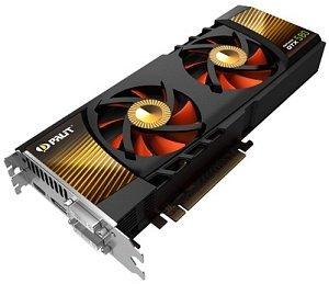 Palit GeForce GTX 580, 3GB GDDR5, 2x DVI, mini HDMI (NE5X5800F10FB)