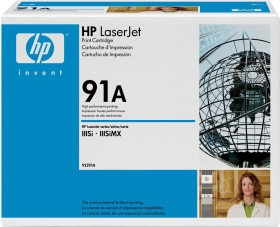 HP Toner 91A schwarz (92291A)