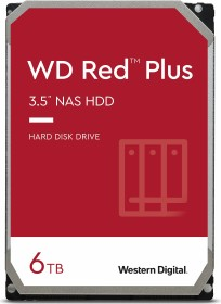 Western Digital WD Red Plus Retail Kit 6TB, SATA 6Gb/s (WDBAVV0060HNC)