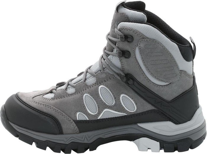 Jack Wolfskin Damen Impulse Texapore O2+ Mid W Trekking-& Wanderstiefel, Grau (Tarmac Grey), 37 EU