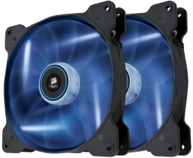 Corsair Air Series SP140 LED Blue High Static Pressure, 140mm, 2er-Pack (CO-9050036-WW)