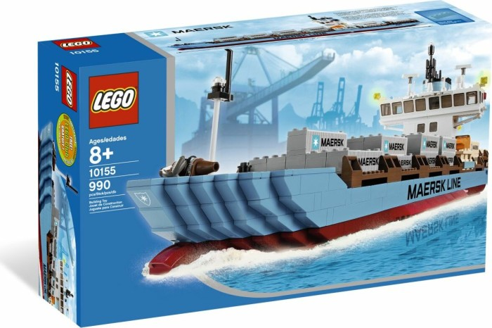 LEGO - Creator Expert - Container Ship (10155) -- via Amazon Partnerprogramm