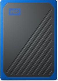 Western Digital WD My Passport Go blue 2TB, USB 3.0 micro-B (WDBMCG0020BBT-WESN)