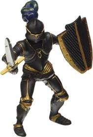 Papo 39275 Ritter mit schwarzer Rüstung 9 cm Ritter und Burgen