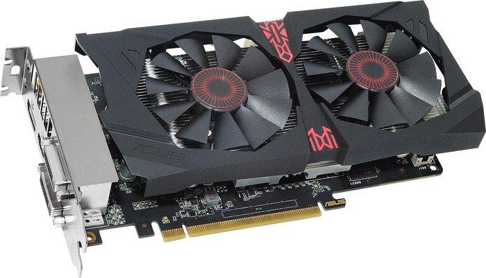 ASUS Strix Radeon R7 370, STRIX-R7370-DC2-2GD5-GAMING, 2GB GDDR5, 2x DVI, HDMI, DP (90YV07Z2-M0NA00)