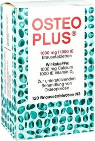 Osteoplus effervescent tablets, 120 pieces