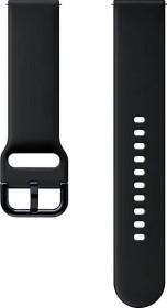 Samsung Sport Band 20mm für die Galaxy Watch Active 2 aqua black (ET-SFR82MBEGWW)