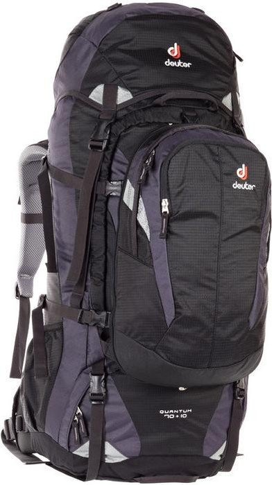 cd4624b04aa46 Deuter Quantum 70+10 black silver (3510415-7400) starting from ...