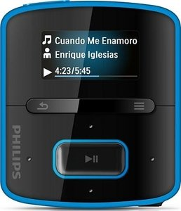 Philips GoGear RaGa 4GB blue (SA3RGA04BN/02)