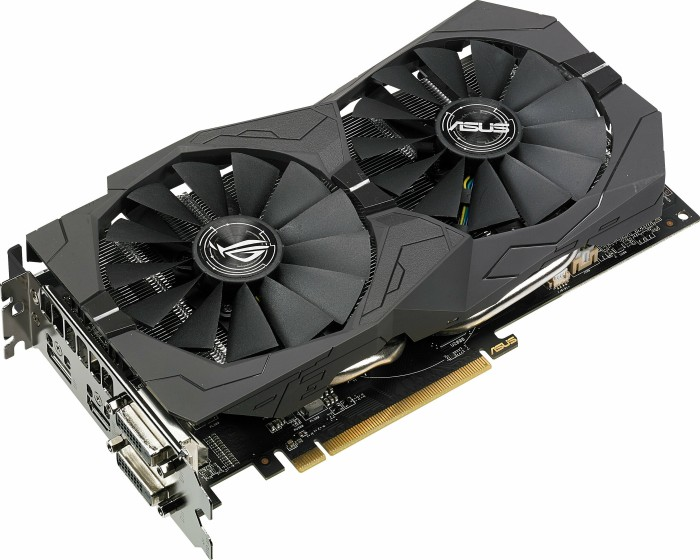 ASUS ROG Strix Radeon RX 570, ROG-STRIX-RX570-4G-GAMING, 4GB GDDR5, 2x DVI, HDMI, DP (90YV0AJ1-M0NA00)