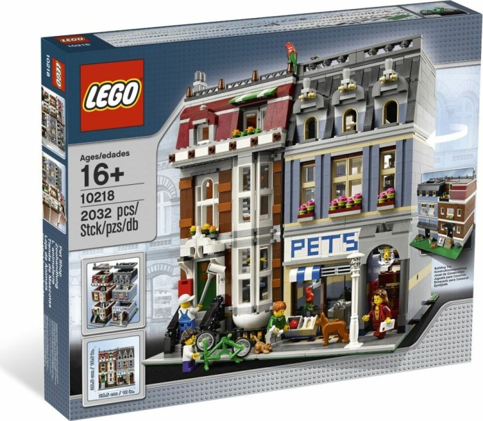 LEGO - Creator Expert - Pet Shop (10218) -- via Amazon Partnerprogramm