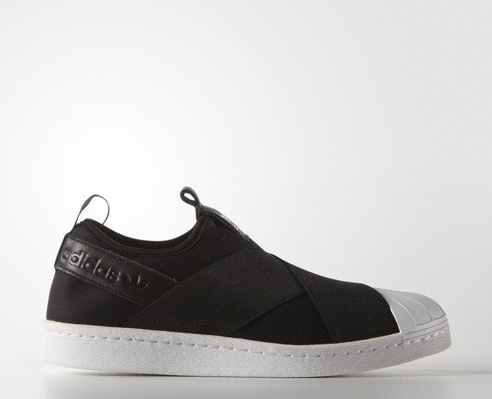 buy popular b58c3 178ba adidas Superstar Slip-On core blackwhite (Damen) (S81337)