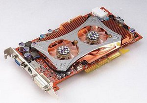 ASUS A9800 Pro/TVD256, Radeon 9800 Pro, 256MB DDR, DVI, ViVo, AGP