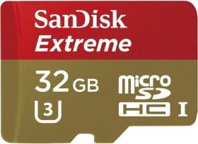 SanDisk Extreme R60/W40 microSDHC 32GB, UHS-I U3, Class 10 (SDSDQXL-032G-GA4A)
