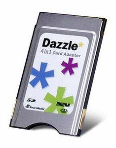 Dazzle* PC Card Adapter 4in1 (903373)