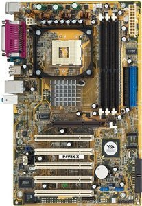 ASUS P4V8X-X (PC-3200 DDR)