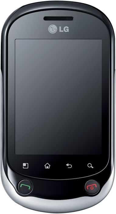 LG Electronics Optimus Chat C550 black silver