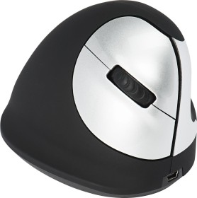 R-Go HE Mouse right vertical mouse wireless, USB (RGOHEWL)