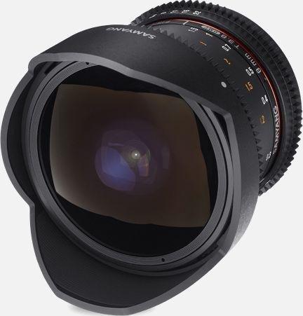 Samyang 8mm T3.8 UMC Fisheye CS II VDSLR für Fujifilm X schwarz