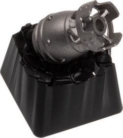Zomoplus Aluminium Keycap Atombombe, magnetisch, schwarz/silber (0759663284936)