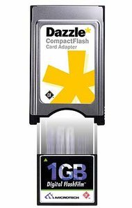 Dazzle* PC Card Adapter CompactFlash (903450)