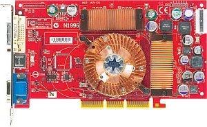 MSI MS-8912/MS-8131 FX5600U-VTD128, GeForceFX 5600 Ultra, 128MB DDR, DVI, ViVo, AGP