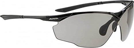 Alpina Splinter Shield VL Fahrradbrille BLACK ONE SIZE XdyBzRYHu