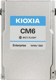 KIOXIA CM6-R Enterprise - 1DWPD Read intensive SSD 30.72TB, U.3 (KCM61RUL30T7)